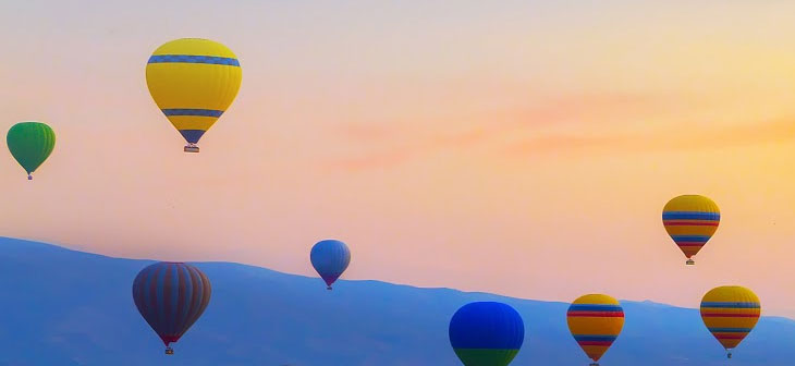 Ballooning Tours in India